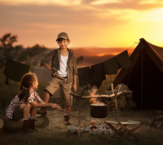 Wild Times: Back to Nature - Easter bushcraft sessions for the National Trust @ Attingham Park - Wilderness cookery