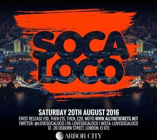 Soca Loco | Carnival Warm Up Fete