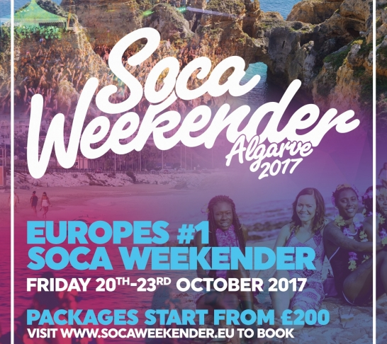 Soca Weekender 2017 Bronze Package