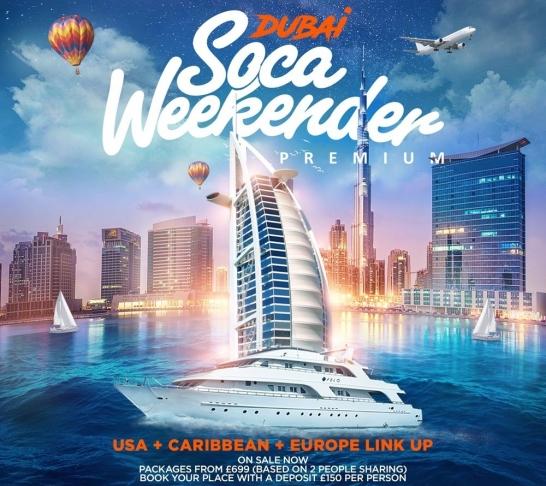 GBP Soca Weekender Dubai 2018