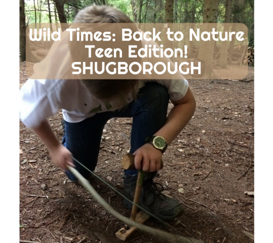 Wild Times: Back to Nature - Shugborough - Age 12-16 - Fire without Matches